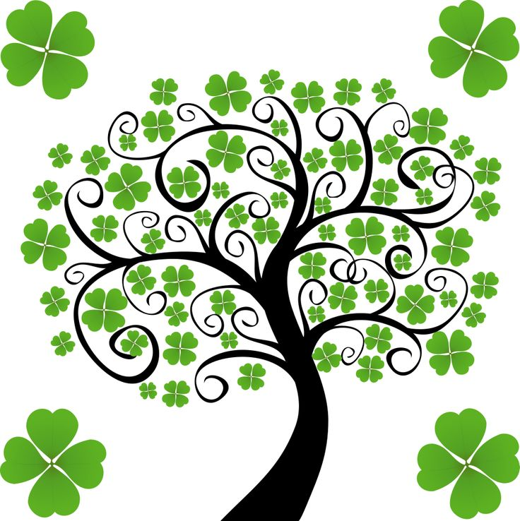 clip art shamrocks | st.patricks day & the luck o the Irish | Pintere…