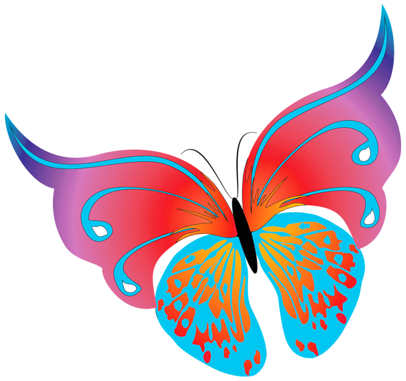 free vintage butterfly clipart - photo #36