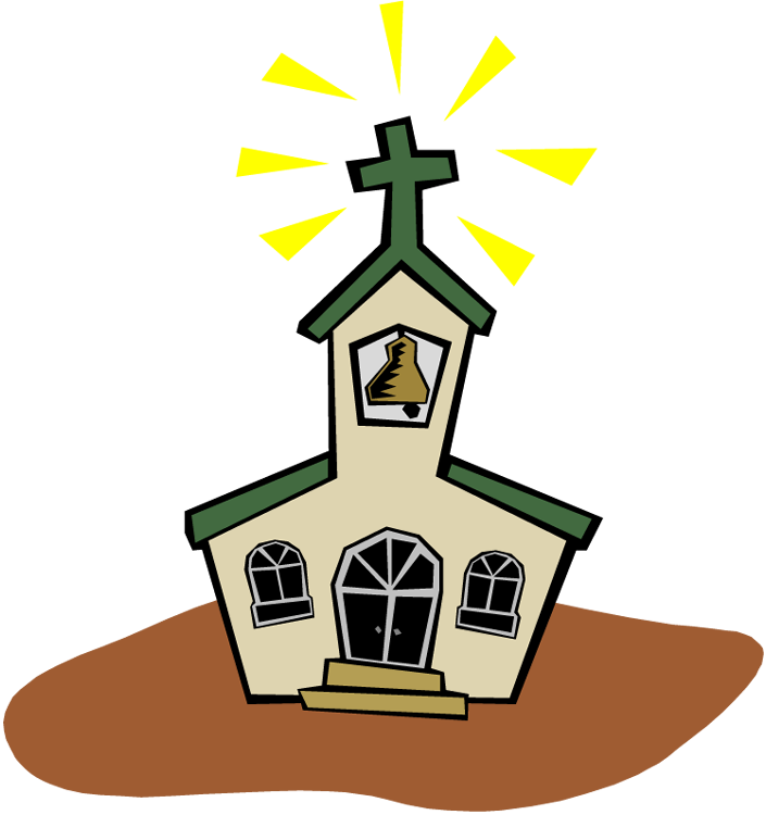 free animated church clip art - photo #14