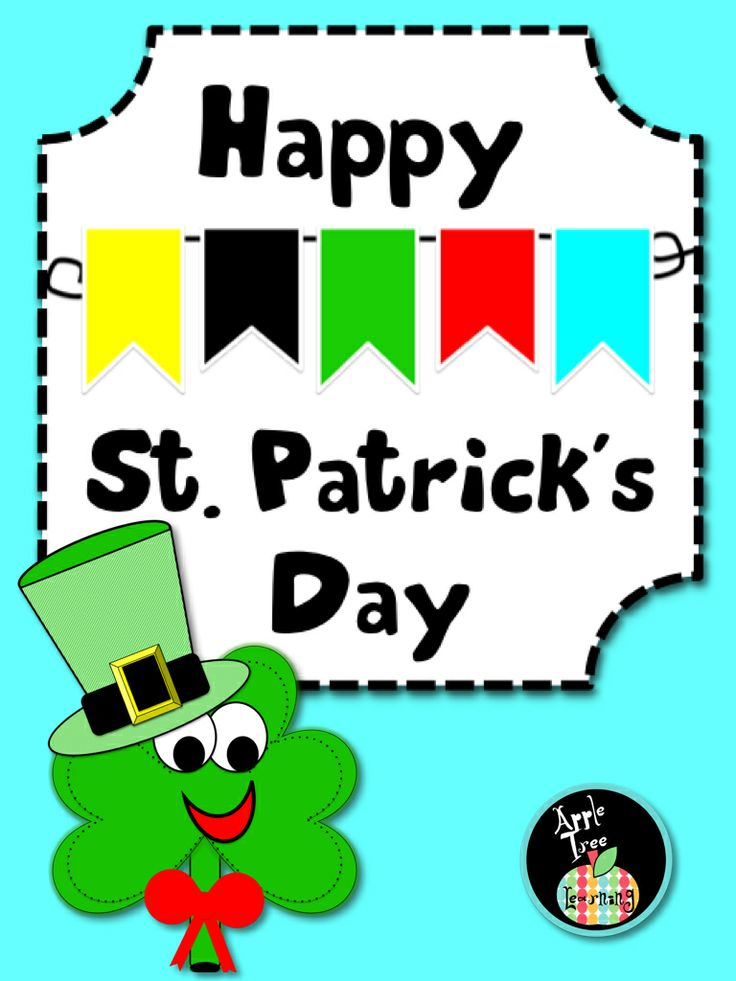 St. Patrick's Day Literacy Kit with FREE Clip Art for Lessons & Cente…