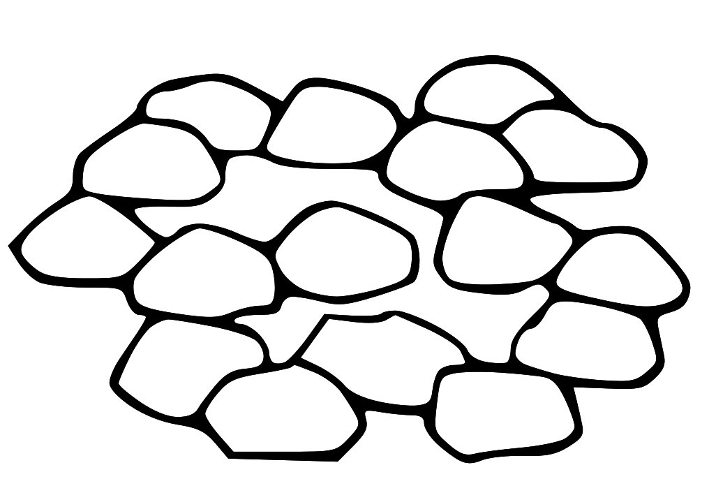 coloring pages stones - photo#16