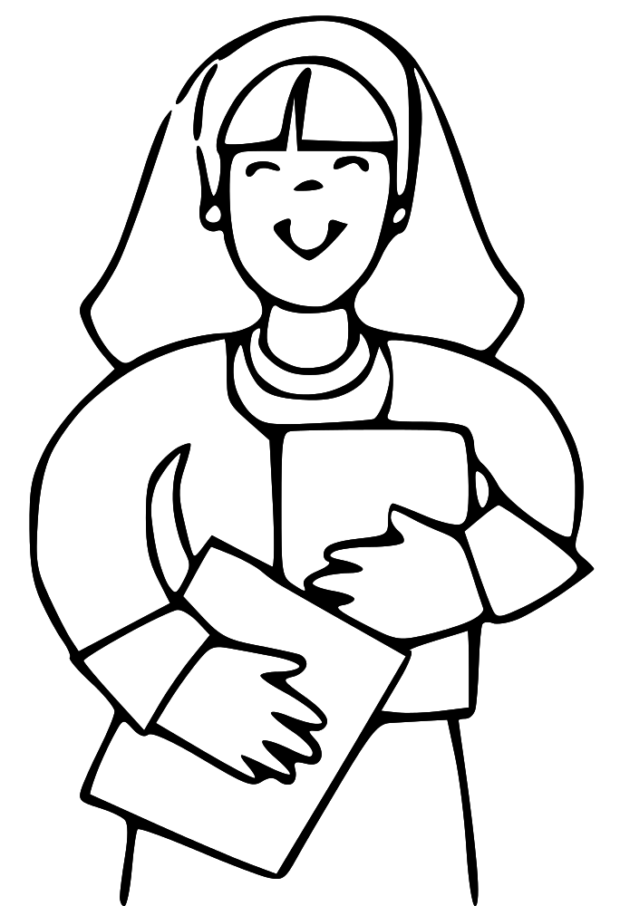 LDS Clipart: mother clip art