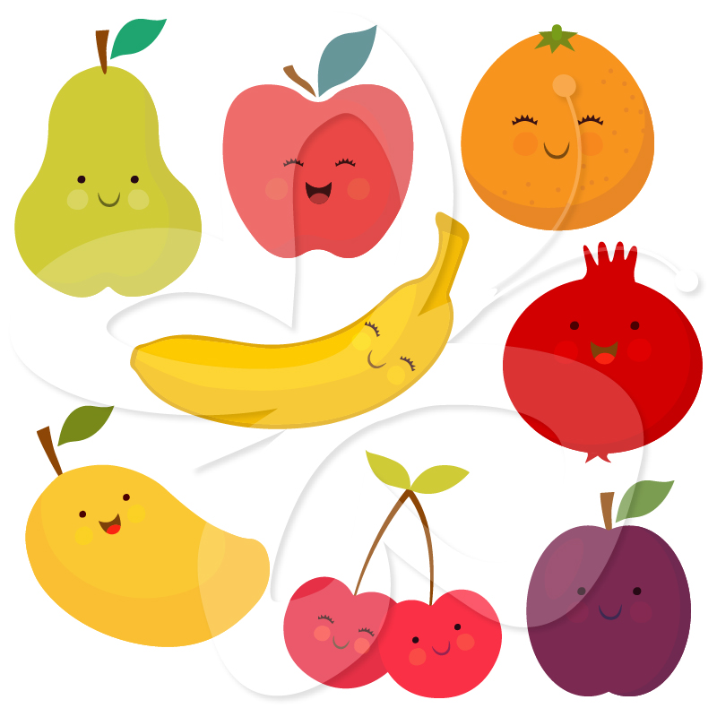 cliparts of fruits and vegetables - photo #9