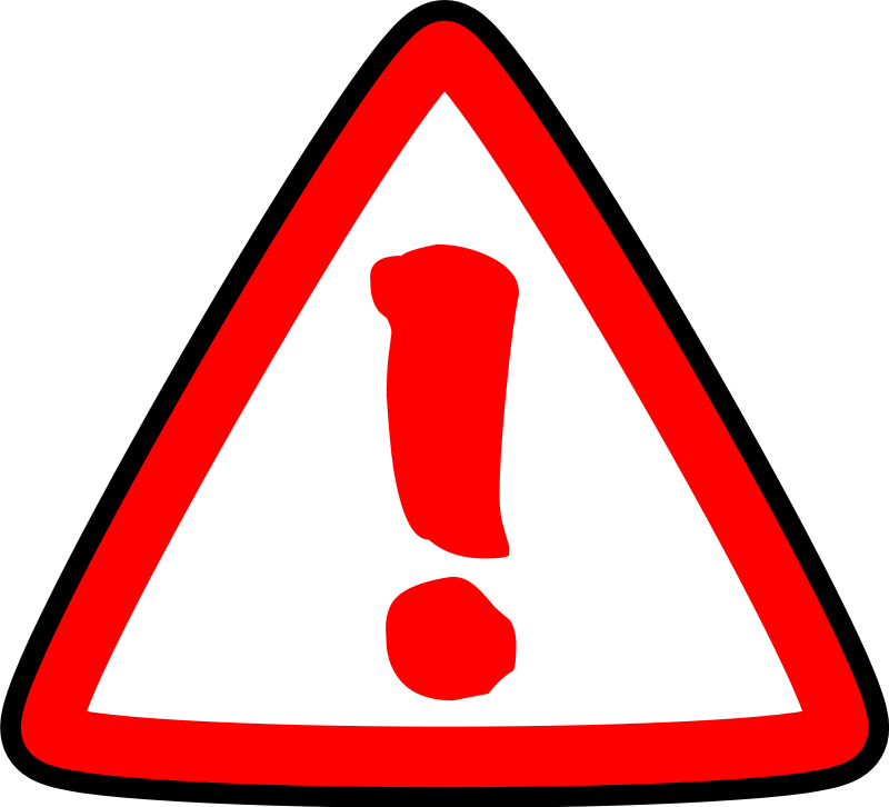 Danger Symbol Clipart - Cliparts.co