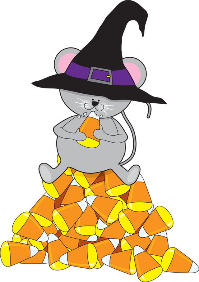 Mouse Eating Candy Corn - Cliparts.co
