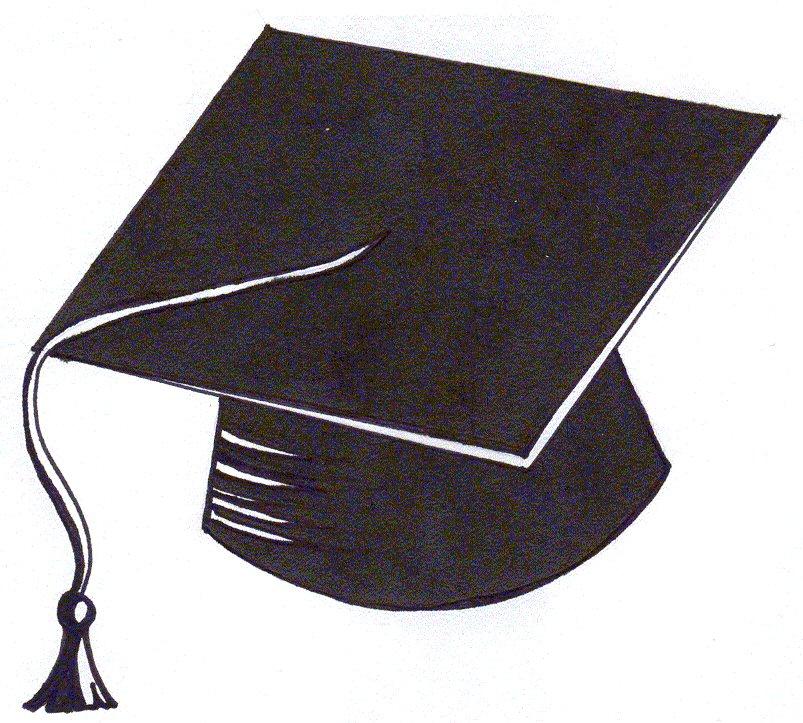 pix for  gt  cartoon graduation cap cliparts co clip art graduation hat with tassel clip art graduation hat 2018