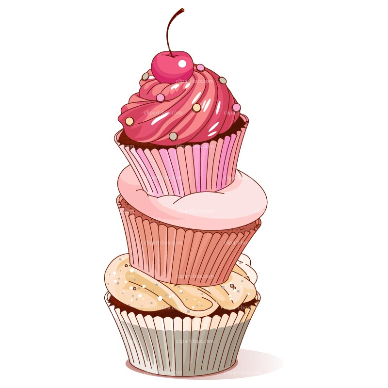 CLIPART CUPCAKE TOWER | Clipart Panda - Free Clipart Images