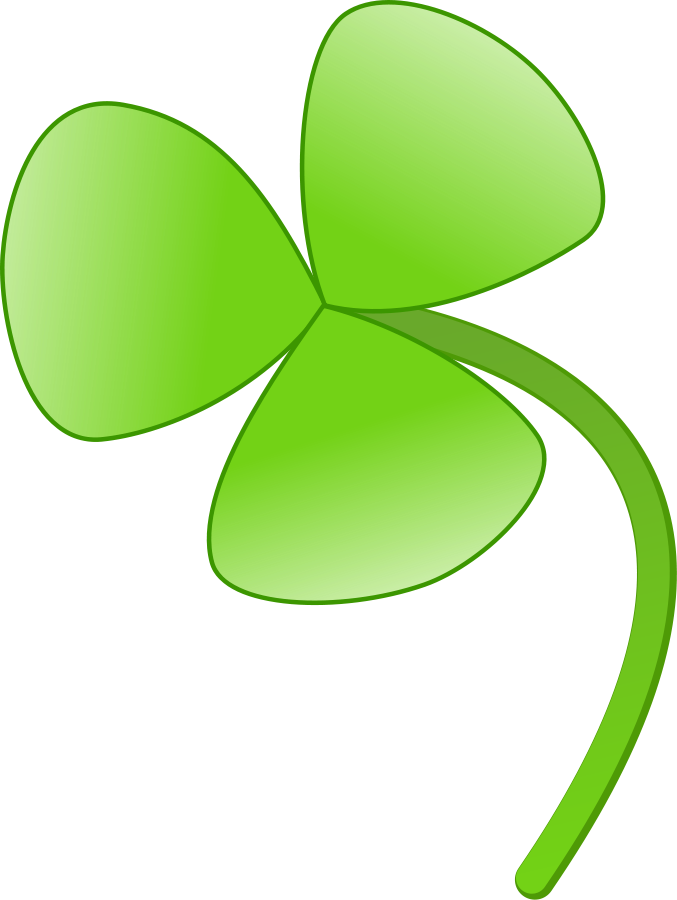 Four leaf clover Clipart, vector clip art online, royalty free ...