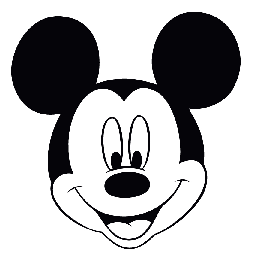Terrible image in mickey mouse printable