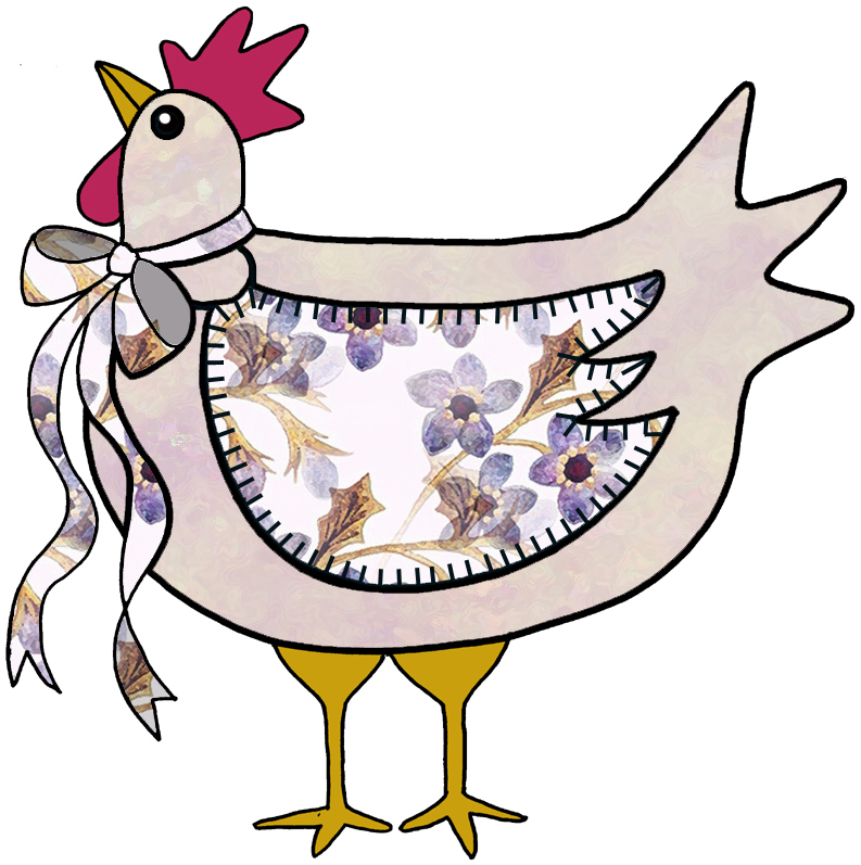 ArtbyJean - Purple Wood Roses: COUNTRY CHICKENS, CHOOKS- Clip art ...
