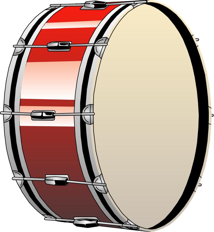 White Drum Set Drum Clipart Black And White