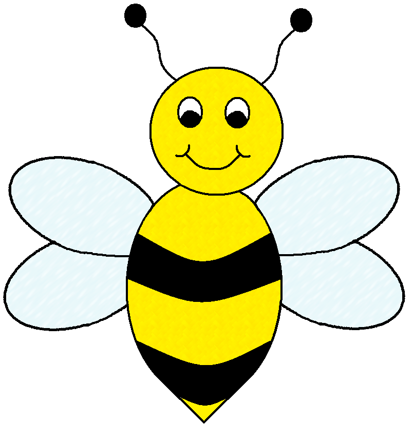 Cartoon Bees Clipart | lol-