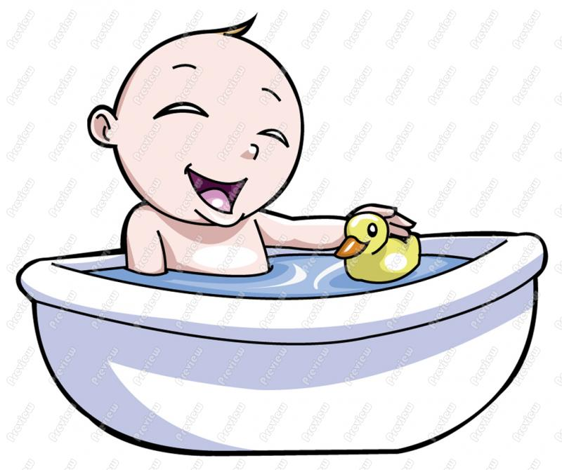 Taking A Shower Cartoon - Cliparts.co