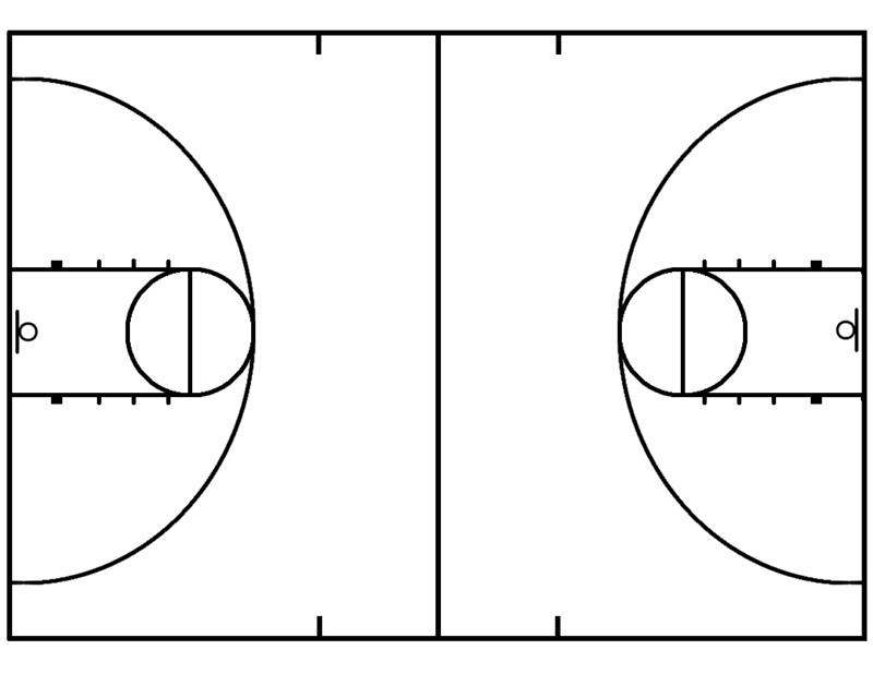 Basketball Court Clip Art - Cliparts.co