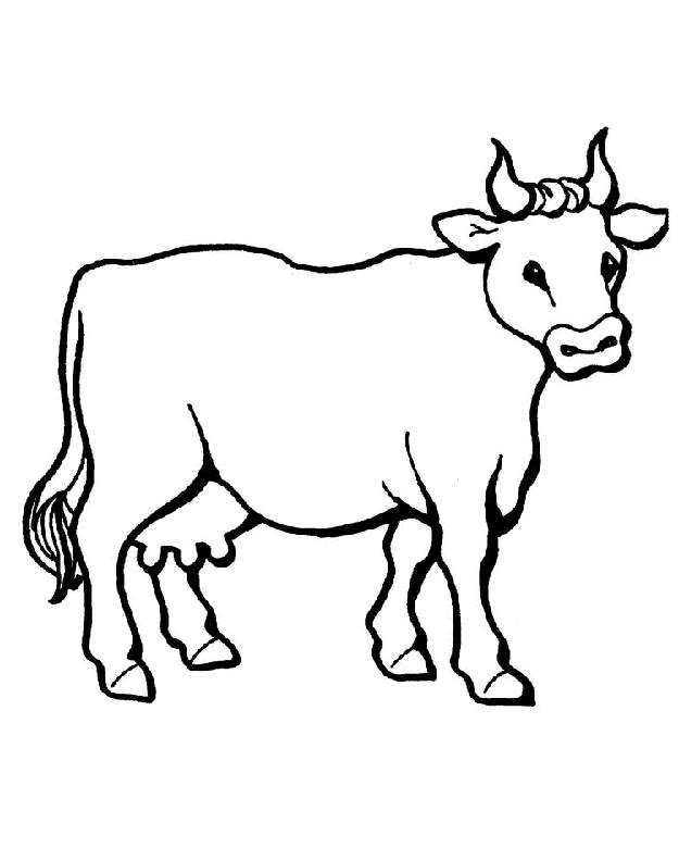 cow clipart simple - photo #11