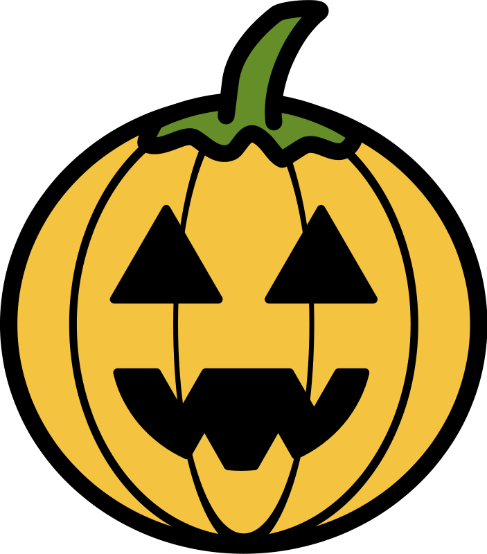 Scary Pumpkin Clip Art - Cliparts.co