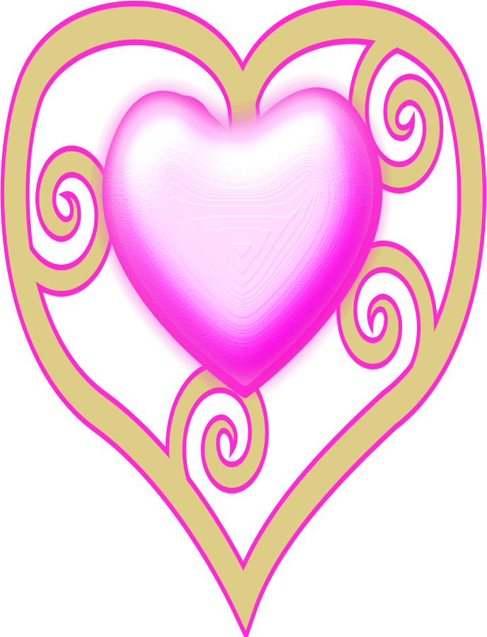 princess crown heart small clipart 300pixel size, free design ...