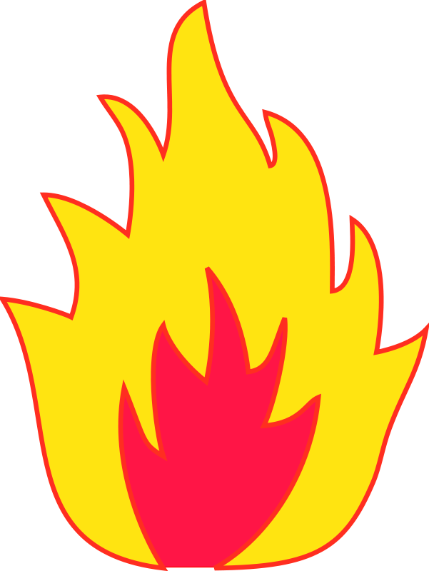 No Fire Or Flames Allowed Clip Art Download