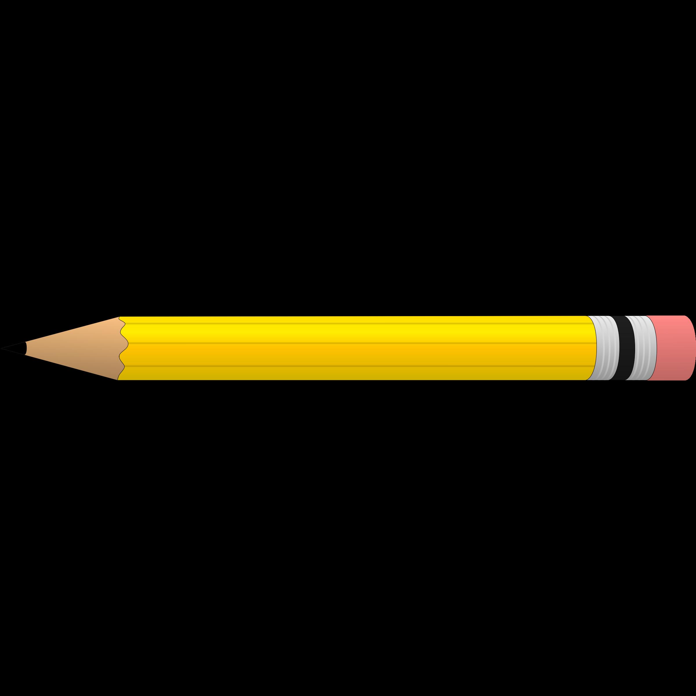 Horizontal Pencil Clipart Pencil Clipart