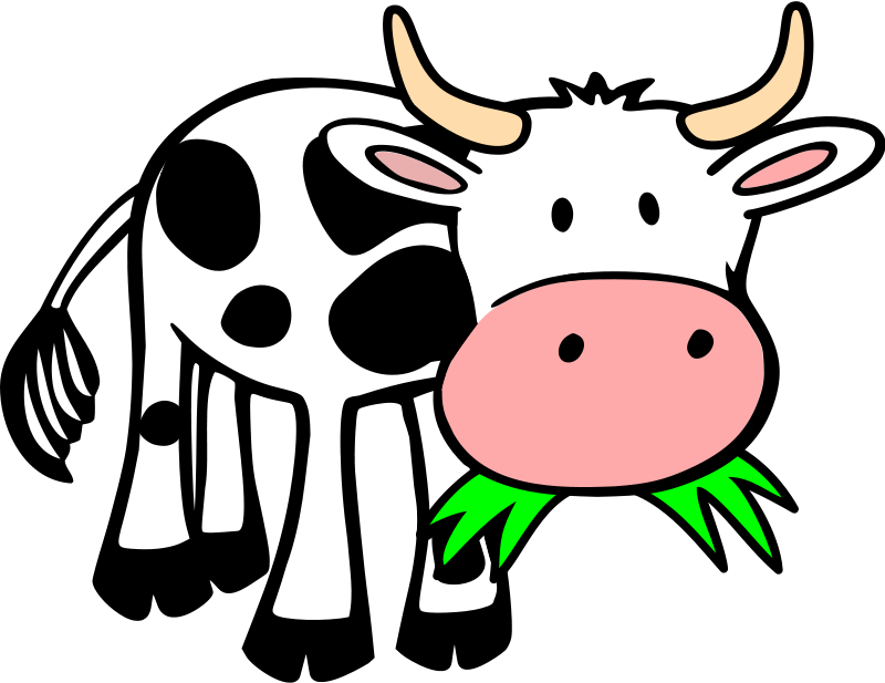 Free to Use & Public Domain Cow Clip Art