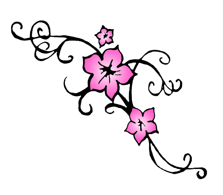 Cherry Blossoms Drawing