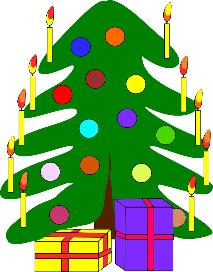 Christmas tree #free #clipart | Holiday Clip Art | Pinterest