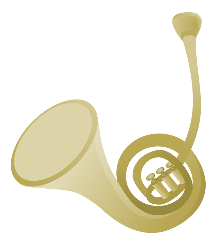 Free French Horn Clip Art