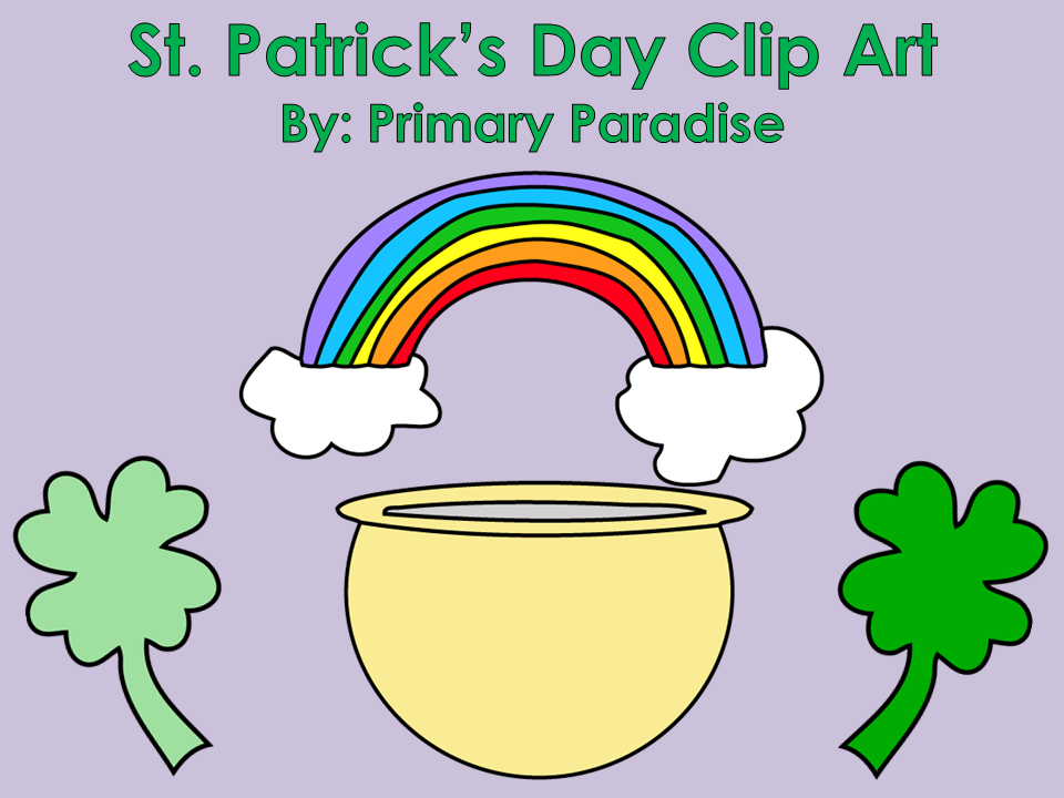 Teacher Mom of 3: Welcome, Primary Paradise! St. Patrick's Day ...