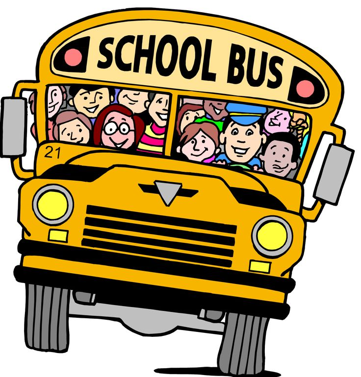 School Bus Clip Art For Kids