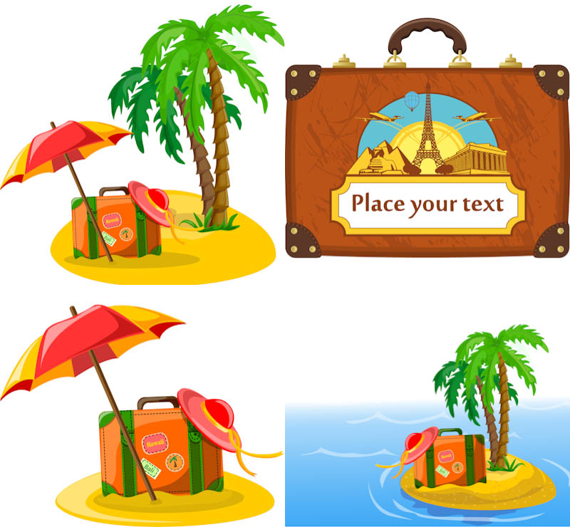 Travel clipart vector | Vector Graphics Blog