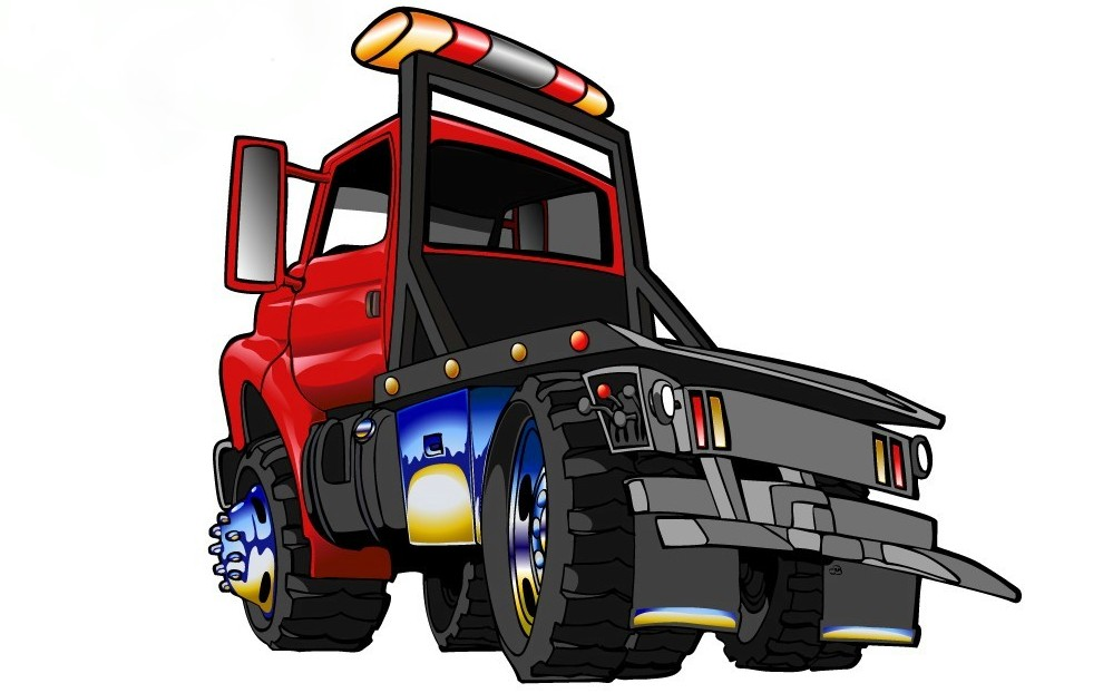 Cartoon Tow Truck Pictures - Cliparts.co