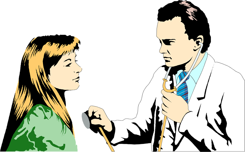 Clipart Doctor And Patient