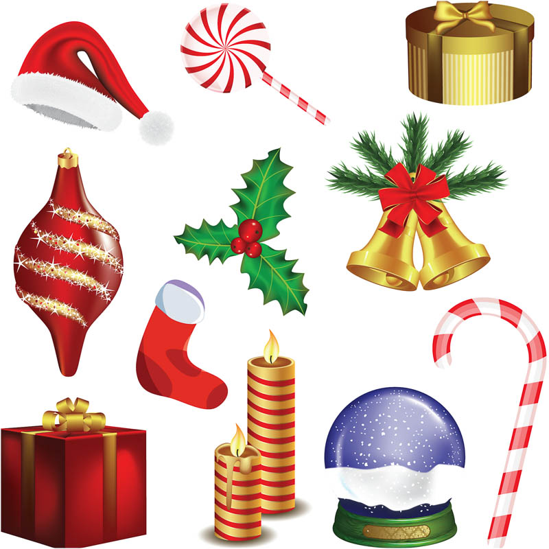 Picture of christmas decorations for Page decoration ideas