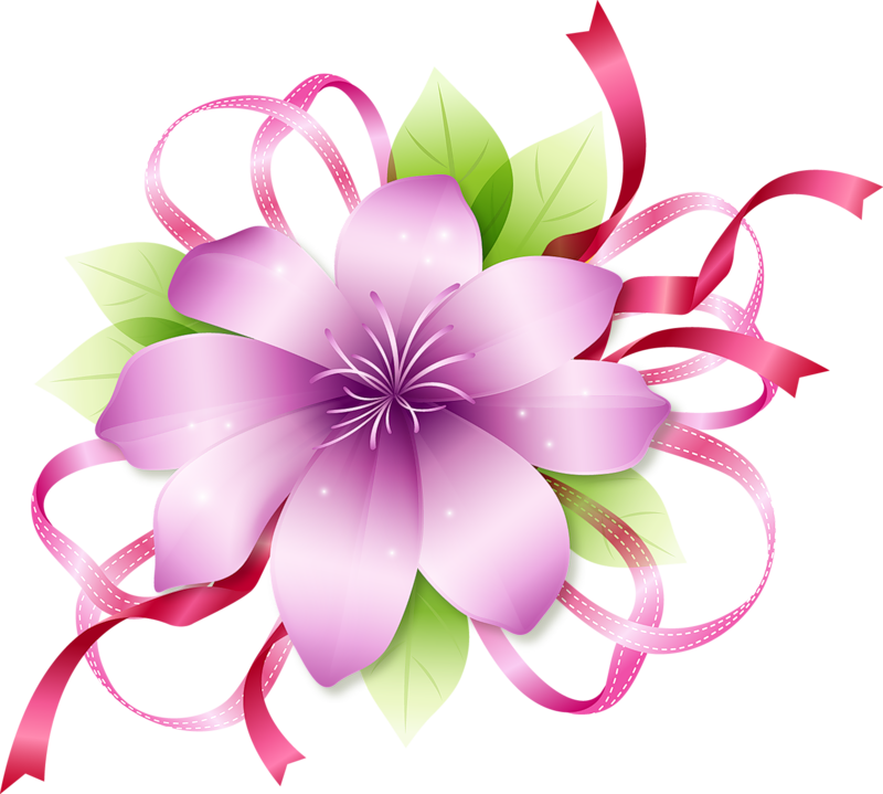 clipart line flower - photo #49