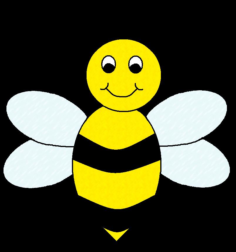 Honey Bee Art - Cliparts.co