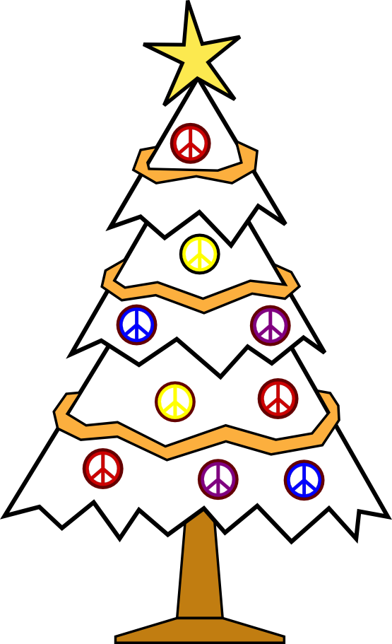 free christmas peace on earth clipart - photo #20