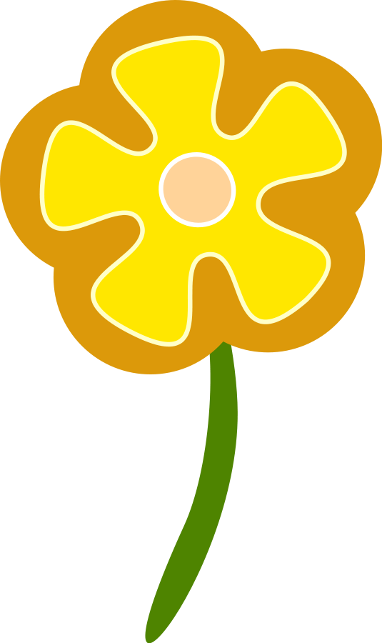 Yellow Flowers Clipart Images & Pictures - Becuo