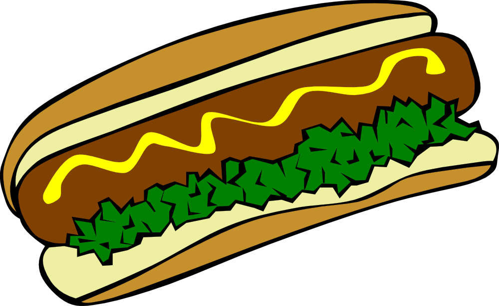 OnlineLabels Clip Art - Fast Food, Lunch-Dinner, Hot Dog