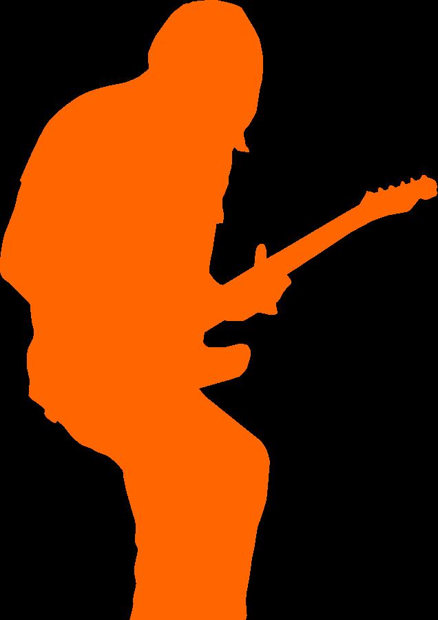 Guitar Outline Clip Art - Cliparts.co
