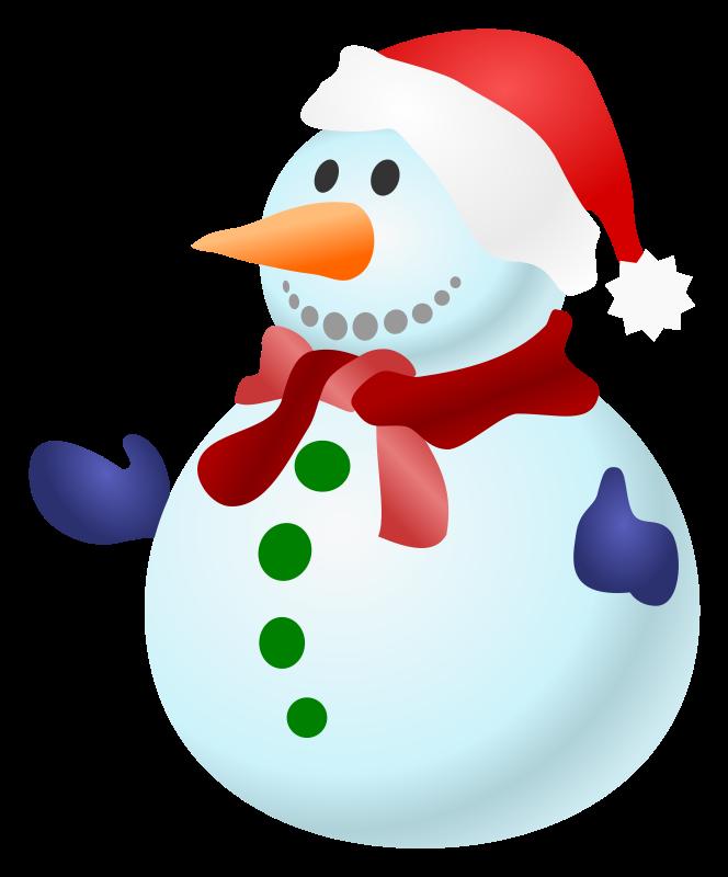 Free Snowman Clipart Images