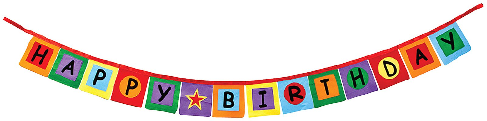 Birthday Banner Clip Art