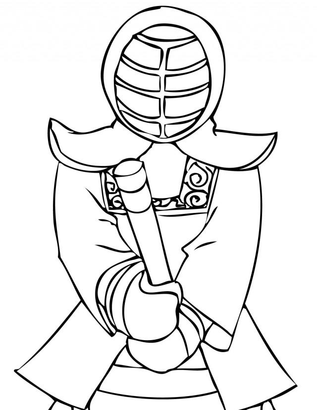 Free Taekwondo Coloring Page, Download Free Clip Art, Free Clip ... | 828x640