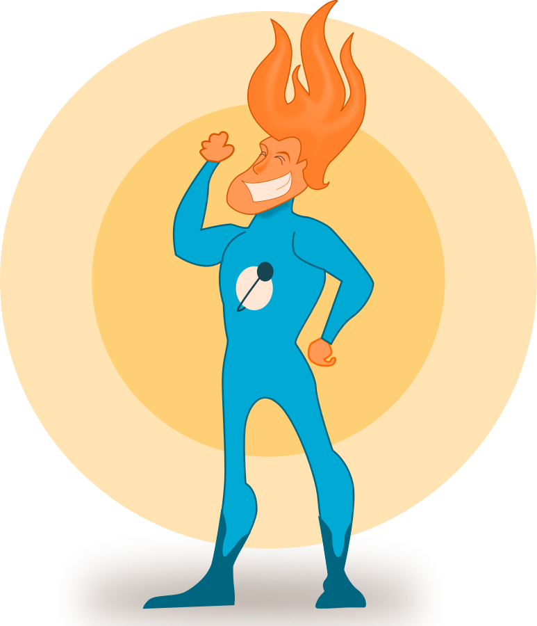 Clip Art Super Hero - Cliparts.co