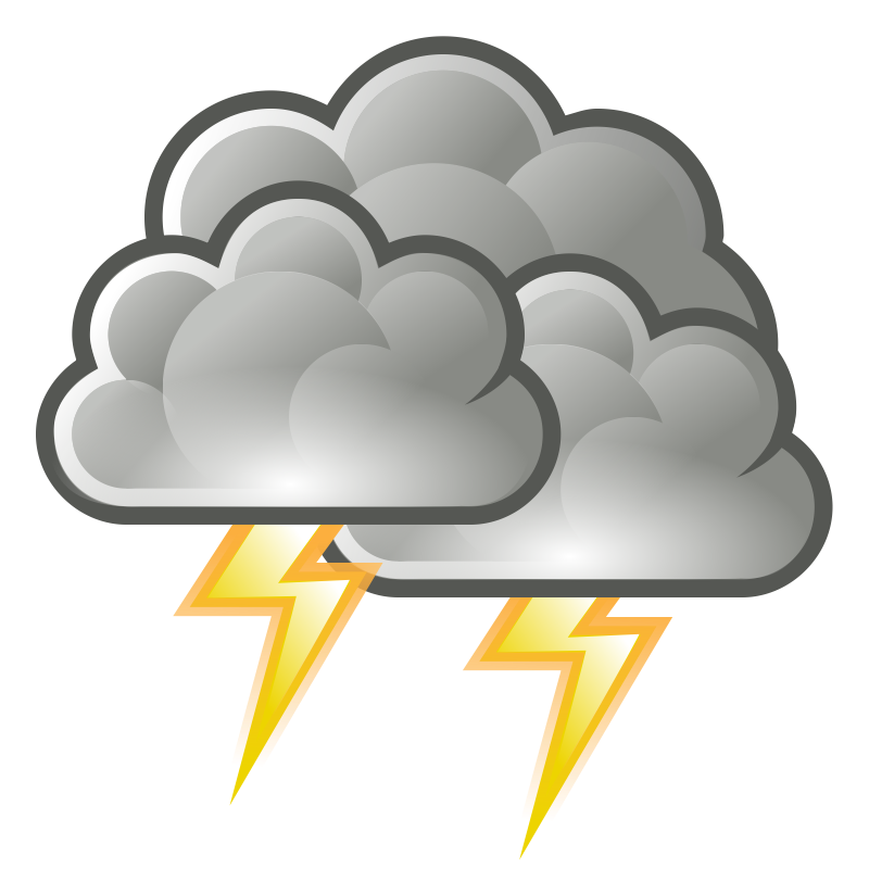 Clipart - tango weather storm