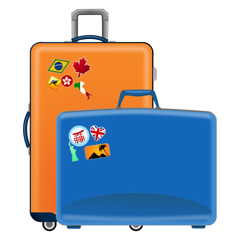 luggage icon cliparts co Free Printable Luggage Stickers Vintage Free Clip Luggage