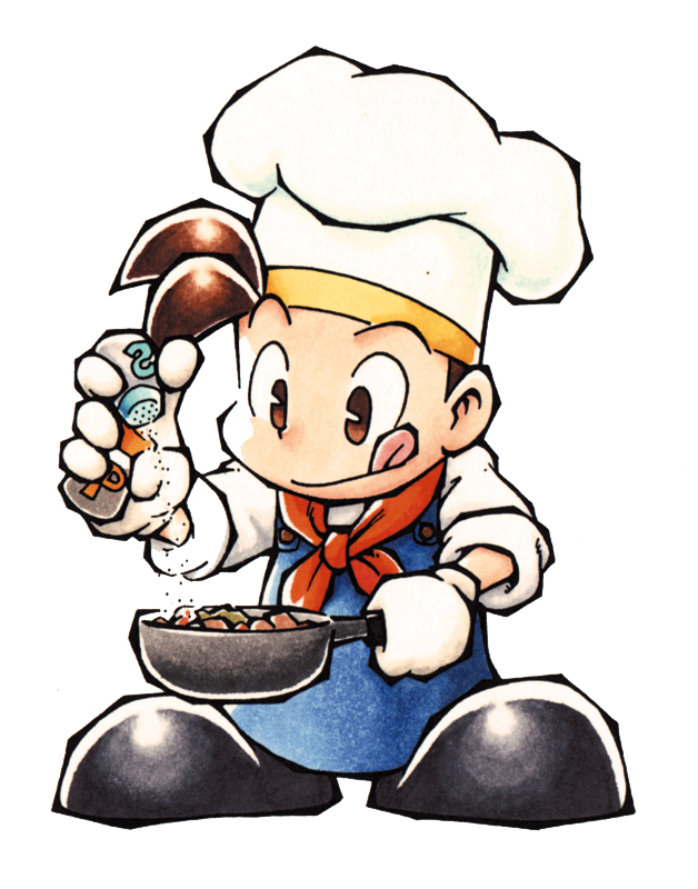 Image - Pete cooking (BTN).jpg - The Harvest Moon Wiki - Harvest ...