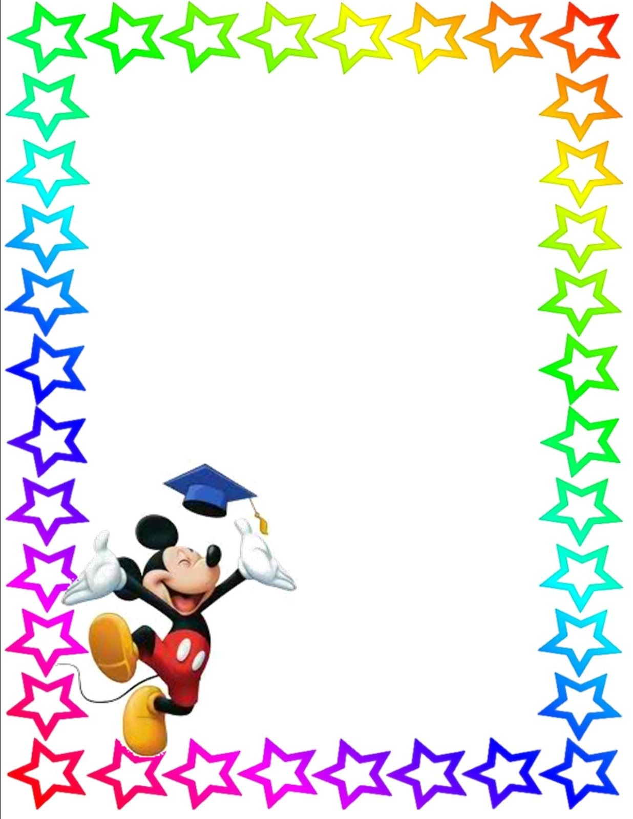 Disney Border Clip Art Clipartsco – Downloadable Page Borders for Microsoft Word