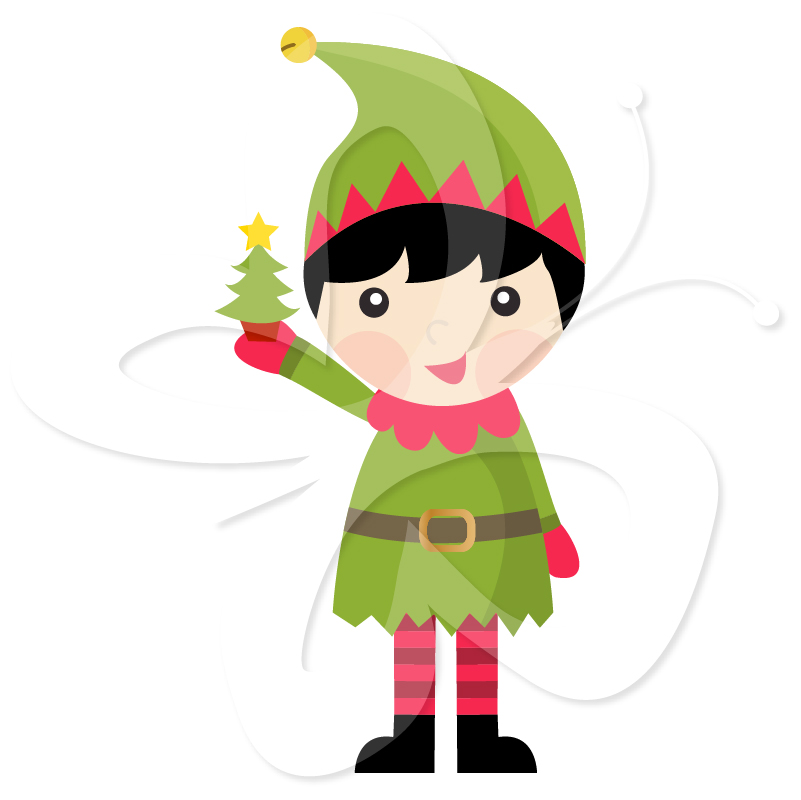 Christmas Elves Pictures - Cliparts.co