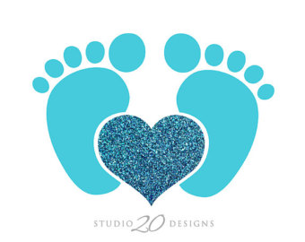 Baby Footprint - Cliparts.co