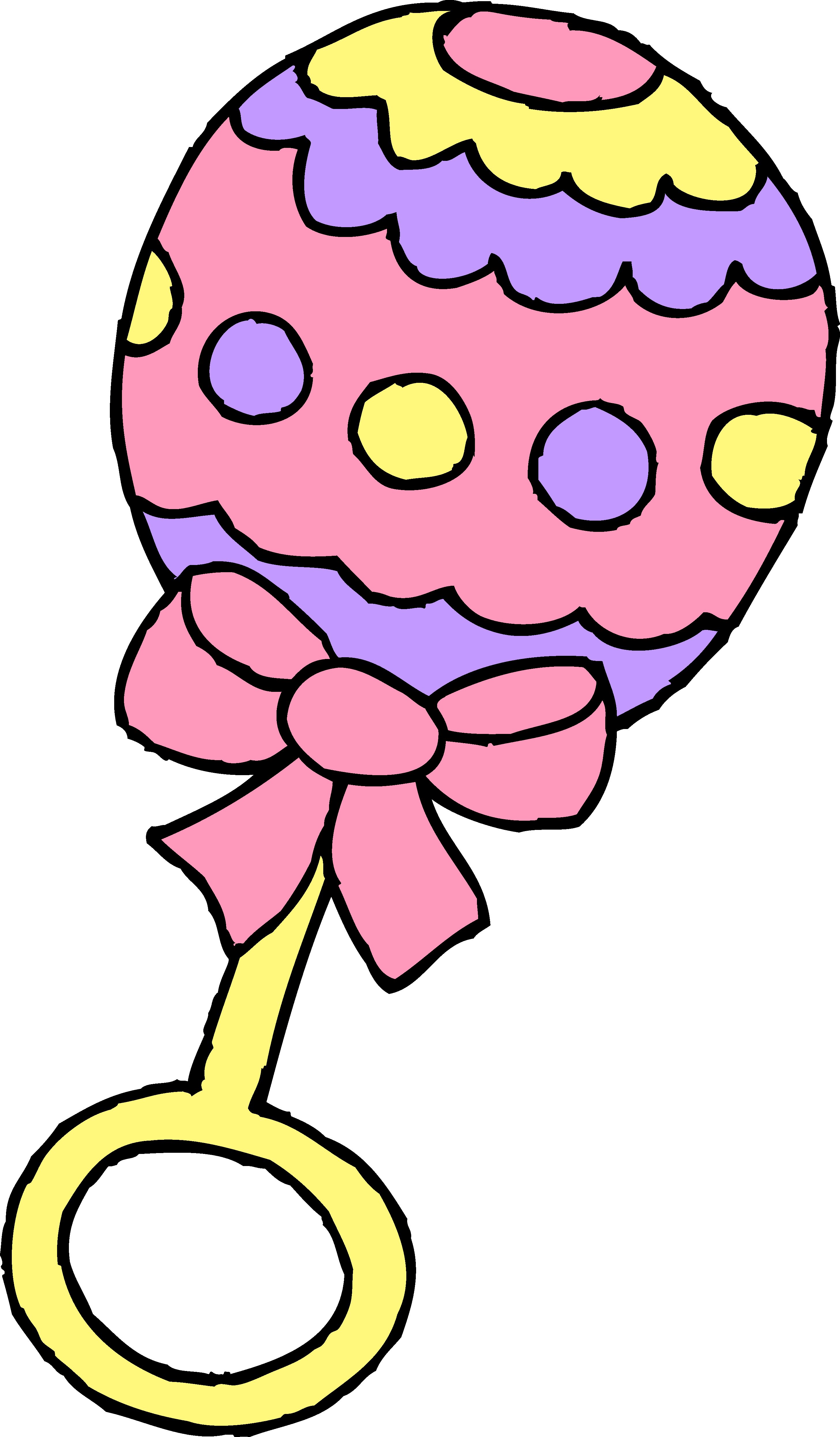 Baby Rattle Clipart - Cliparts.co